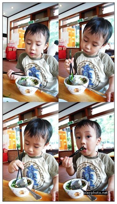 Randy吃飯